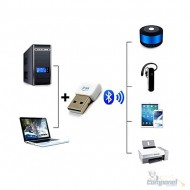 Adaptador Bluetooth Usb Dados 5.0